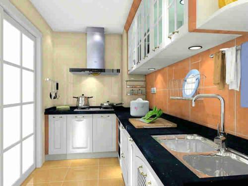 狭长型的厨房怎么装修设计?